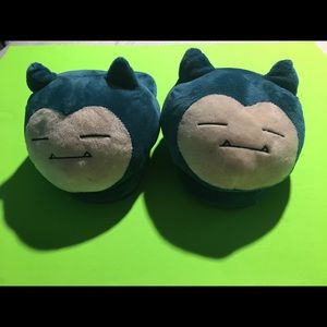 Adult Snorlax Slippers